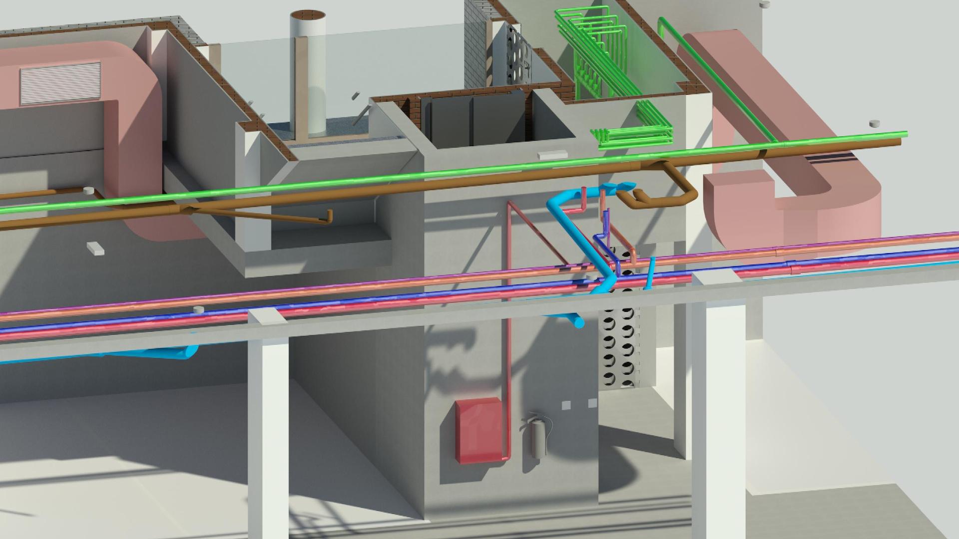Proyectos BIM MEP instalaciones